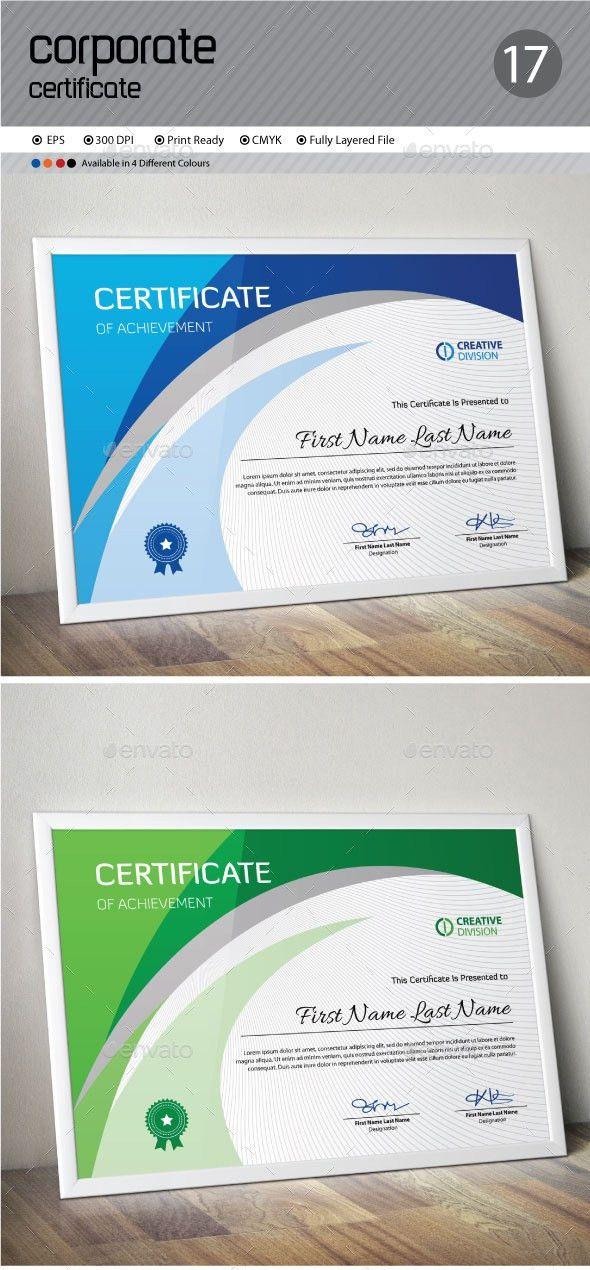 Free Psd Certificate Template