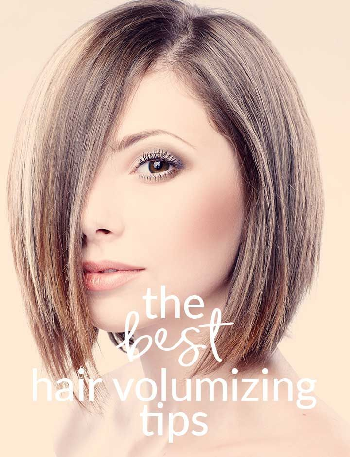 Must know tips for volumizing your hair! If you have flat, limp hair you'll want to know these tips. They create volume that lasts all day!