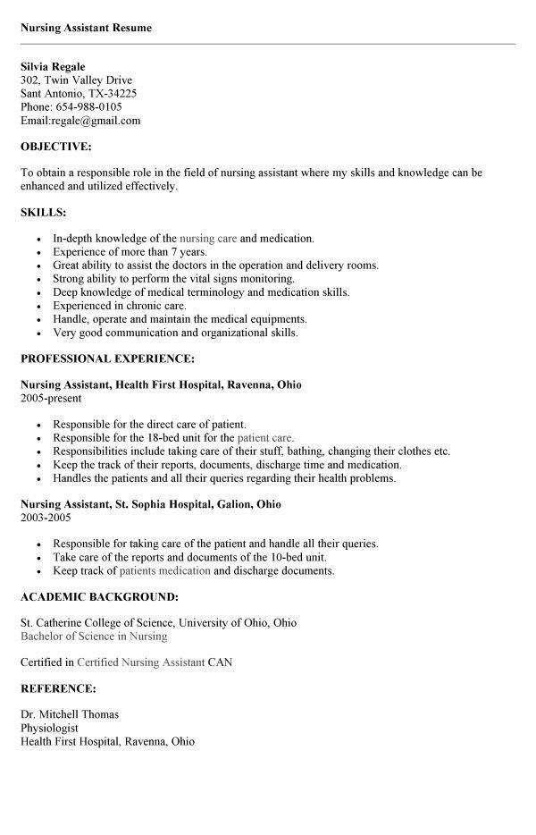 Entry Level Cna Resume Sample Professional Entry Level Nursing