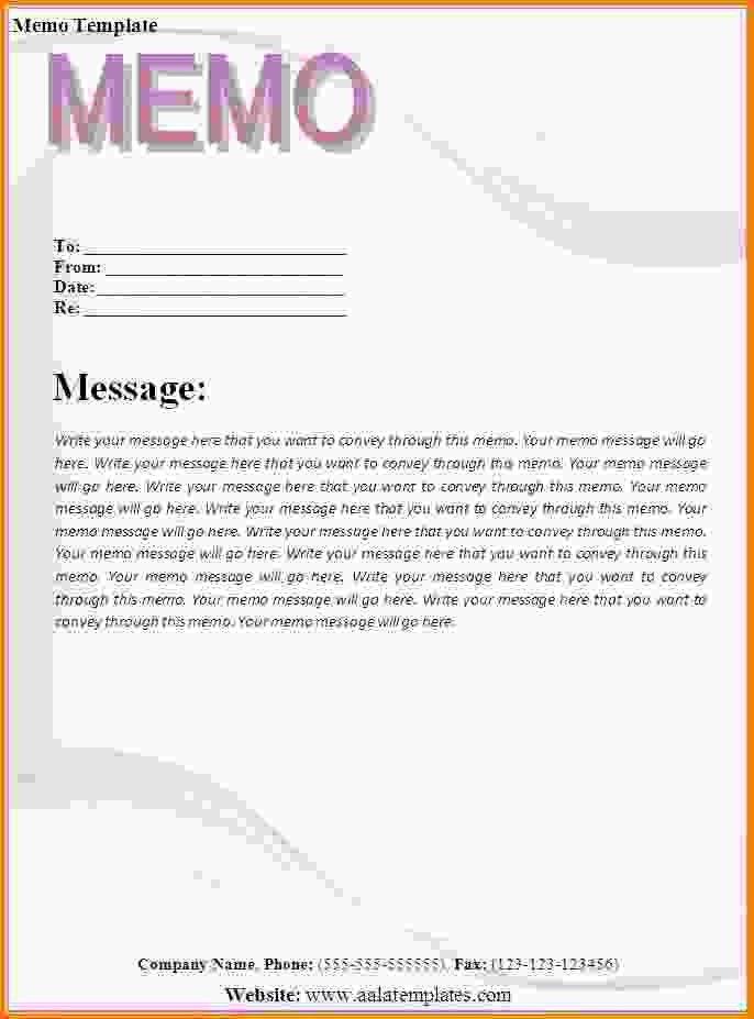 Example Of A Memo Report Sample Memo Report, 10 Audit Memo - casual memo letter template