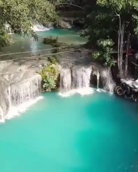 Cambugahay Falls, Philippines 🌴