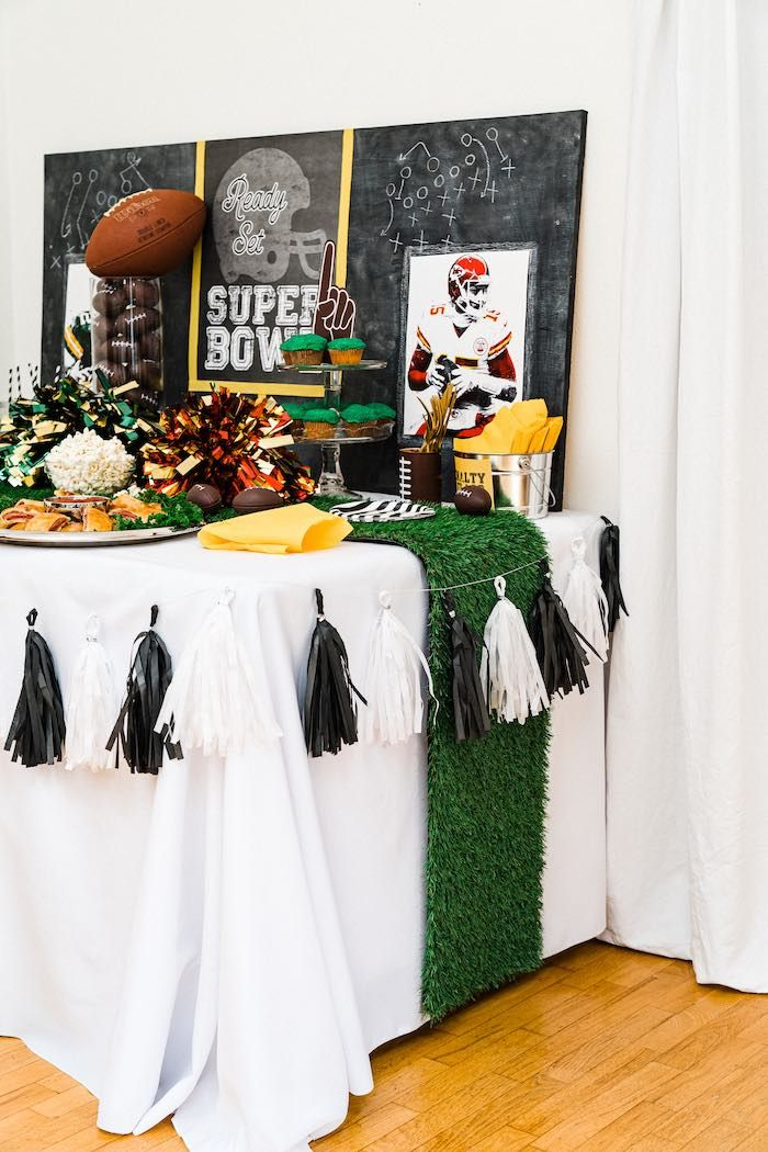 Super Bowl Football Fun Party