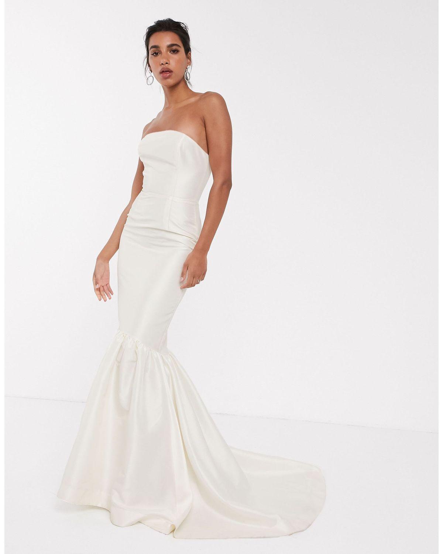 Bandeau Wedding Dress