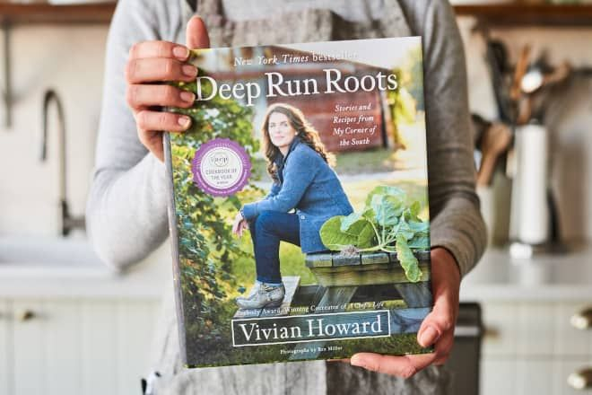 """Let's Get Cooking! Kitchn's March Cookbook Club Pick Is """"Deep Run Roots"""" by Vivian Howard."""
