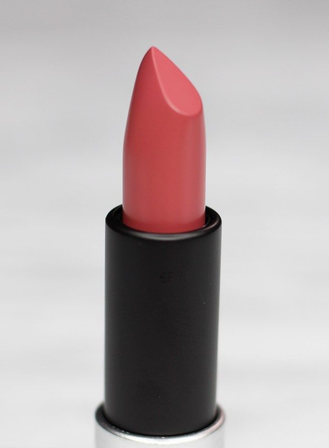 MUFE Artist Rouge Lipstick Satin Creme in C211 Rose Wood | I Bought a Bunch of MUFE Artist Rouge Lipsticks & Here's What I Think! (Make Up For Ever swatches, full face, & sass) on All Things Beautiful XO