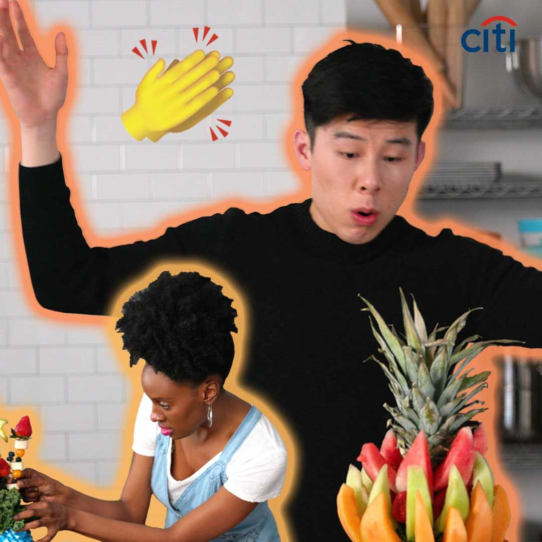Staff Showdown: Food Bouquets // Presented by BuzzFeed. Sponsored by Citi