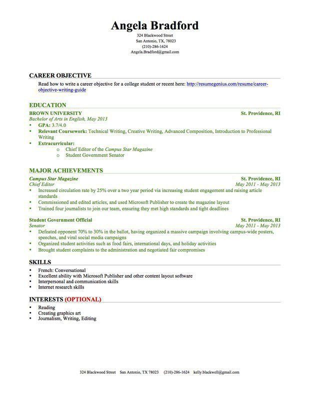 Video Resume Examples Resume Examples Entertainment And Media Video