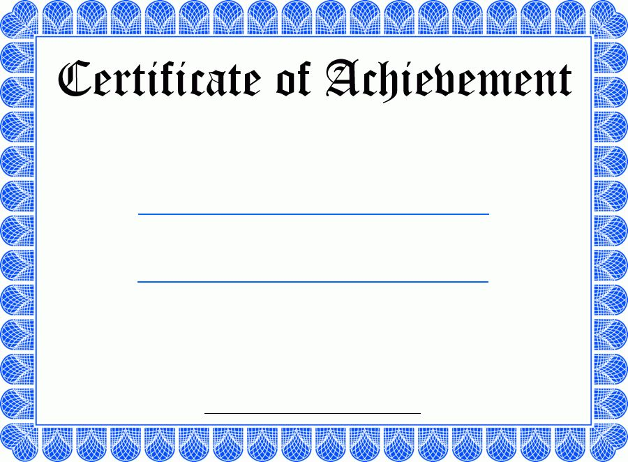 Free Template For Certificate Word Certificate Template 31 Free - free template certificate