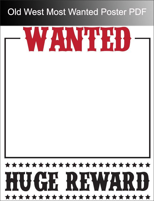 Free Wanted Poster Template wanted poster layout 29 free wanted – Most Wanted Sign Template