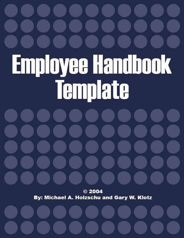 Free Training Manual Template Word 10 Training Manual Template - employee manual template