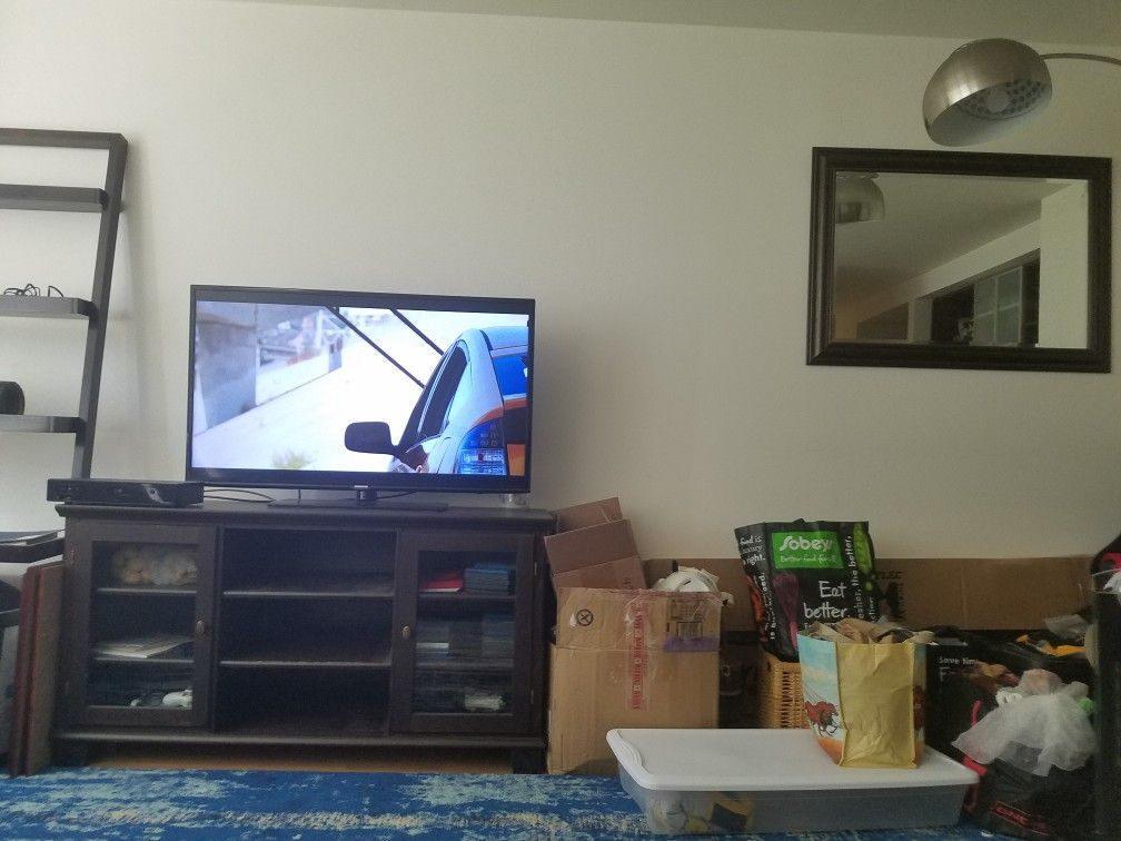 Tv stand we have, we may want to reuse but open to other