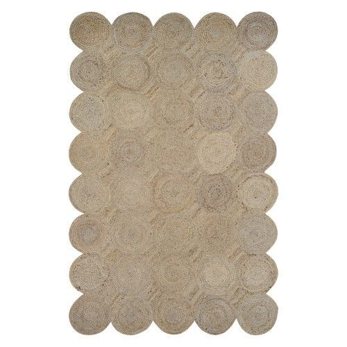 Saved by's Pinterest #henge Image created at 242561129912662033 - Couristan Natures Elements Henge Area Rug - Straw, Beige