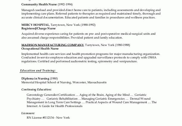 Wound Care Nurse Resume objective for a nursing resume sample - medical surgical nursing resume