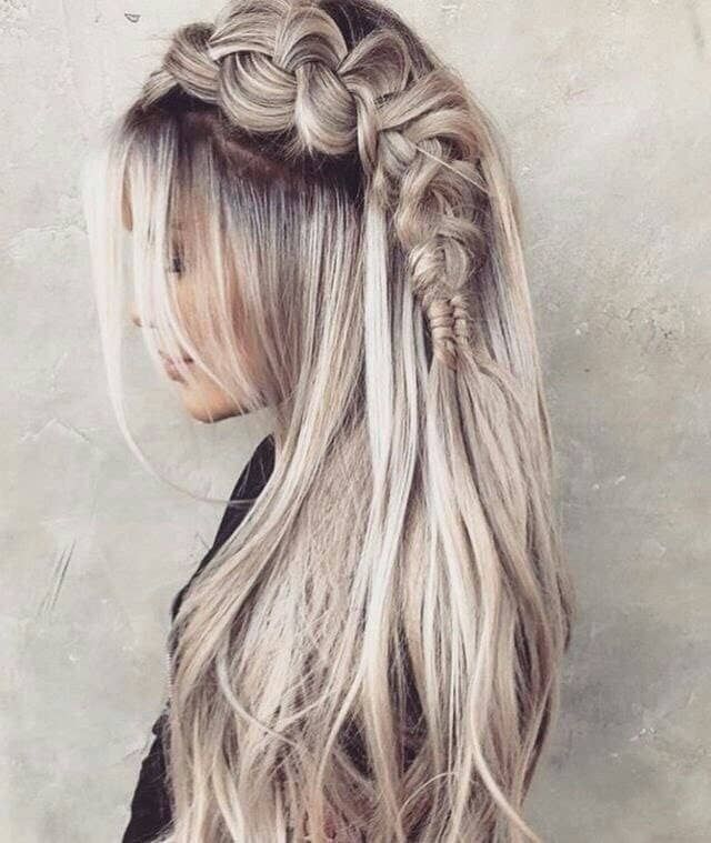 "Stunning Platinum Blonde Side Braid<p><a href=""http://www.homeinteriordesign.org/2018/02/short-guide-to-interior-decoration.html"">Short guide to interior decoration</a></p>"