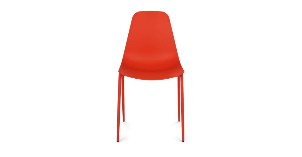 Svelti Poppy Red Dining Chair - Dining Chairs | Modern, Mid-Century and Scandinavian Furniture
