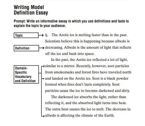 Sample Definition Essays Mistyhamel