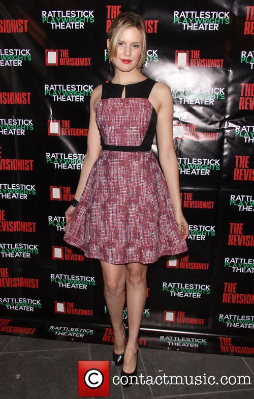 Maggie Grace wearing Peter Som at the Premiere of 'The Revisionist' at the Cherry Lane Theater Feb 2013
