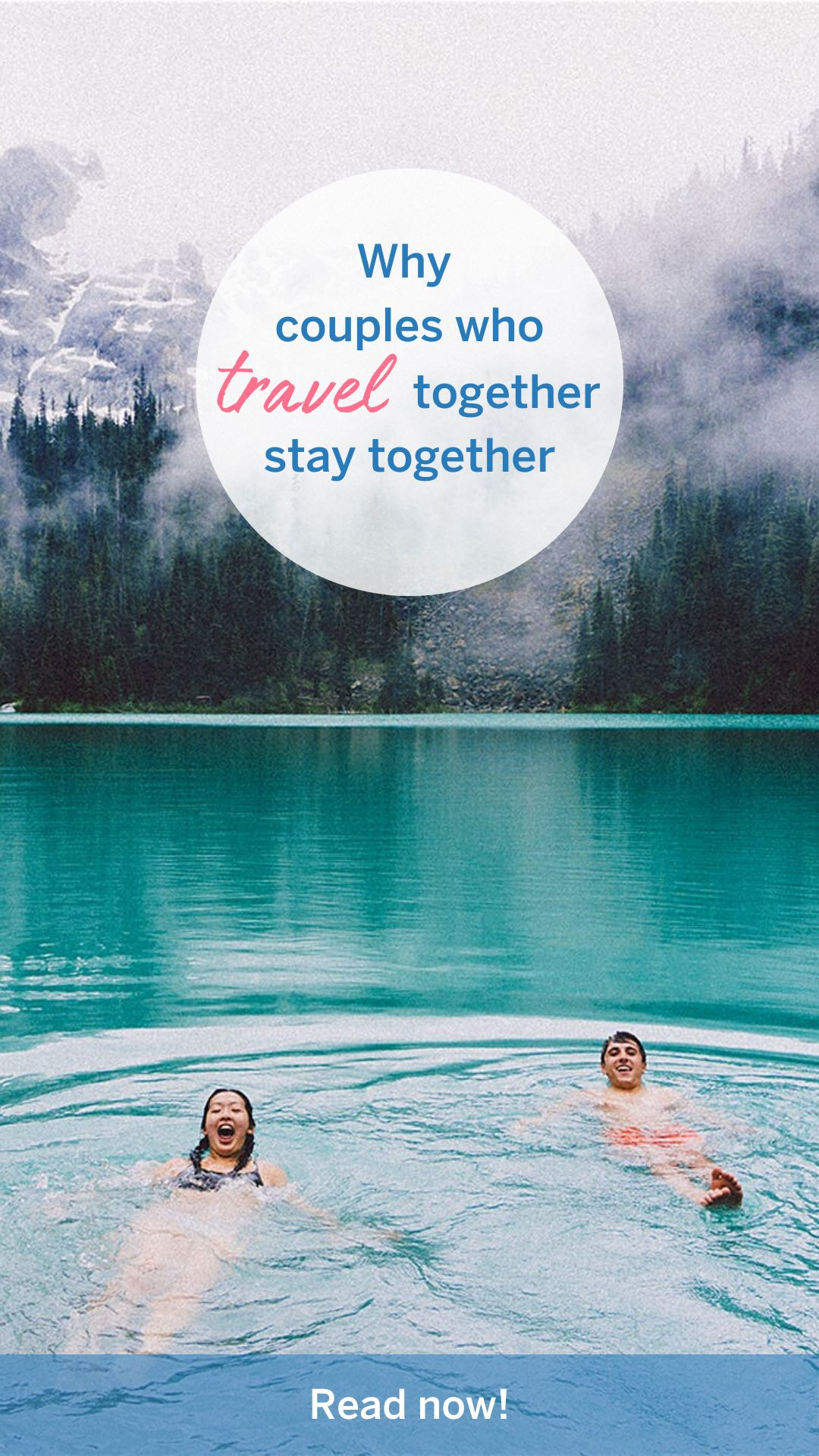 Why couples who travel together stay together