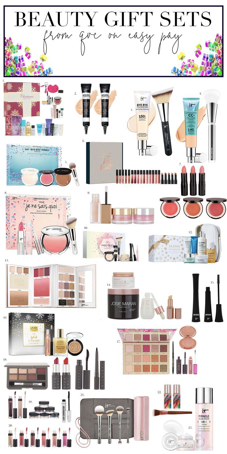 20+ Beauty Gift Sets from QVC! Stay on budget because these sets are all available on Easy Pay!