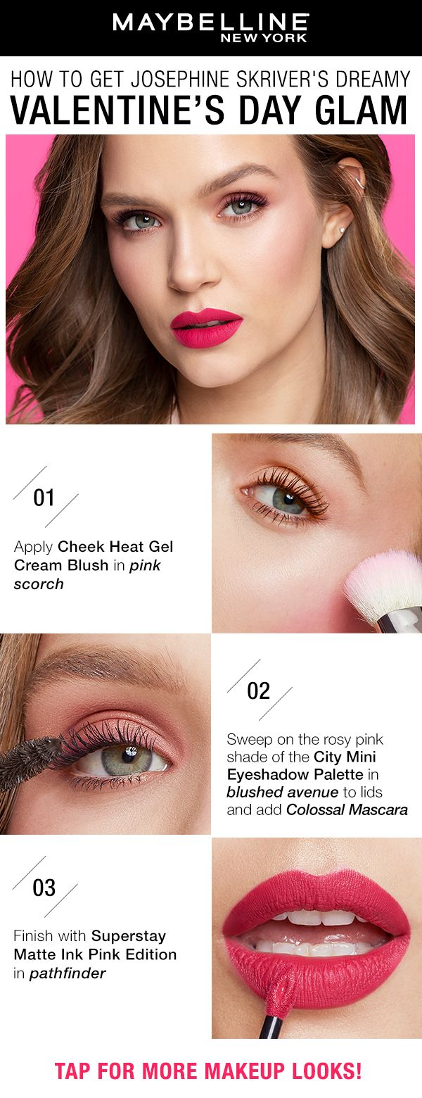 Easy Valentine's Day Makeup
