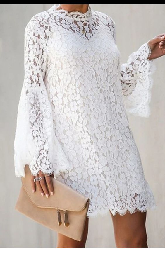 White dress to try
