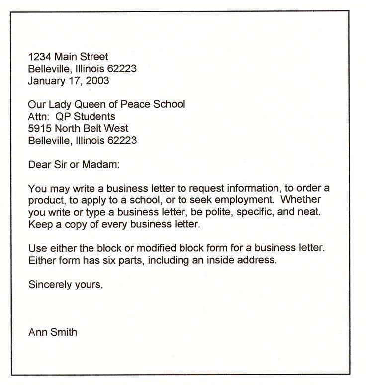 Samples Of Formal Letter 21 Best Formal Letter Templates Free - business complaint letter format