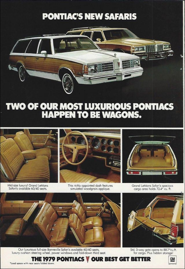 Vintage Adverts of 9 Station Wagons From the 1979 Model Year