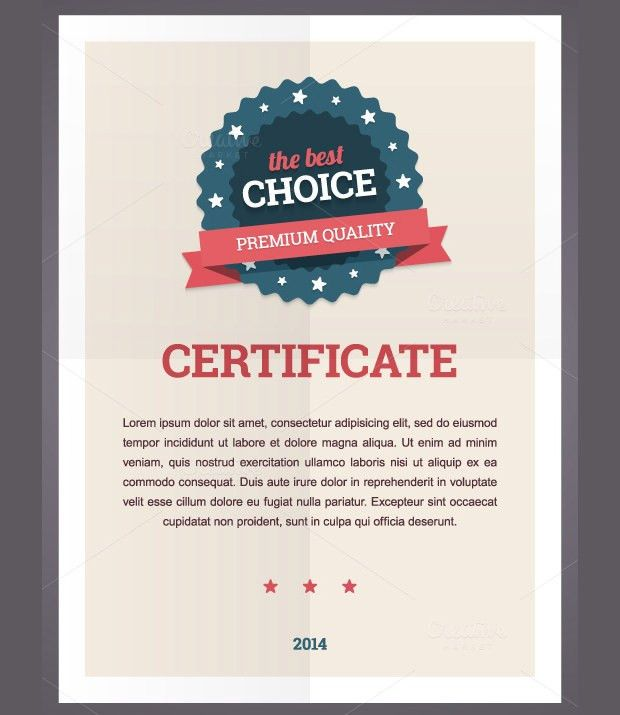Good Certificate Designs 15 Certificate Designs For Your - certificate design format