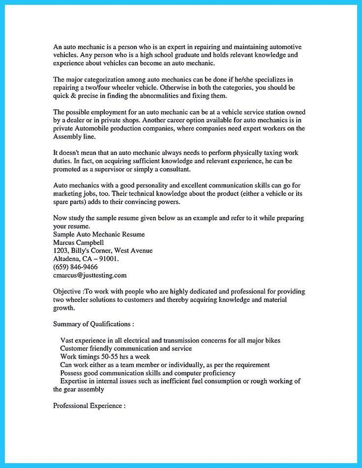 auto mechanic duties download auto technician job description auto mechanic resume sample