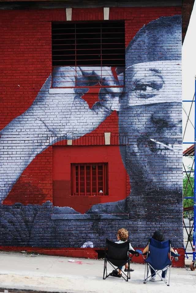 Pin by Claudia Lee on JR's amazing art Street artists
