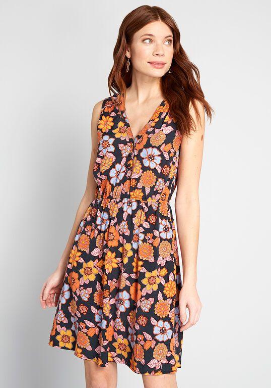 Cafe au Soleil Sleeveless Dress