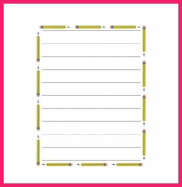 Template For Lined Paper Lined Paper Template Free Premium - lined paper pdf