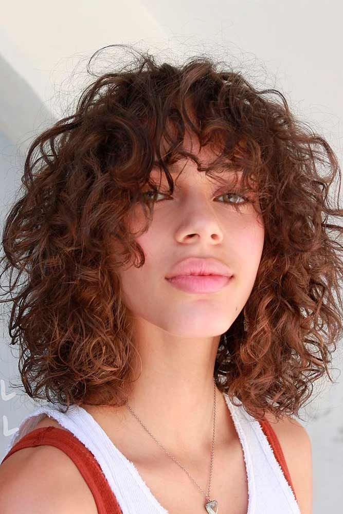 Is Perm Suitable For Your Hair Type? #wavyhairstyles #shaggyhair ★ The best types and styles of modern perm for your flawless look. #glaminati #lifestyle #perm