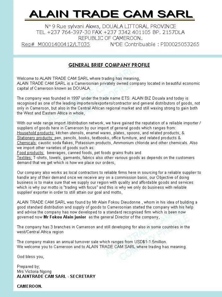 Business Report Sample 17 Business Report Templates Free Sample - sample company report