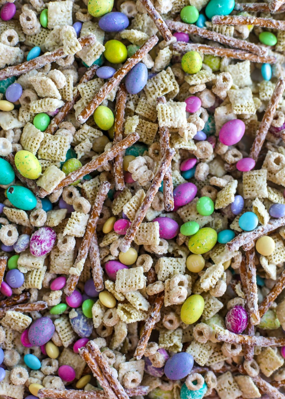 Easter Snack Mix - Easter Bunny Trail Mix Recipe - Easter Crack