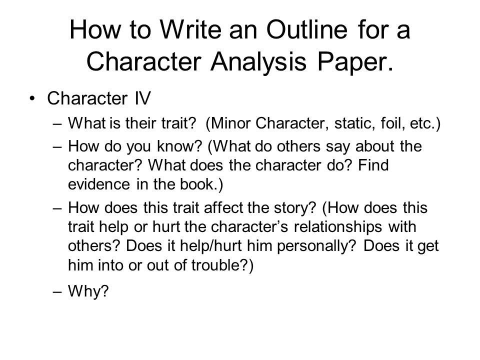Sample character analysis template 8 free documents in pdf word - character analysis