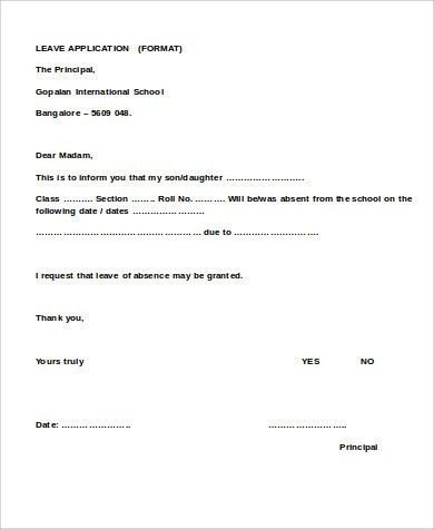 Leave Application Form Request For Time Off Form Annual Leave - application for leave