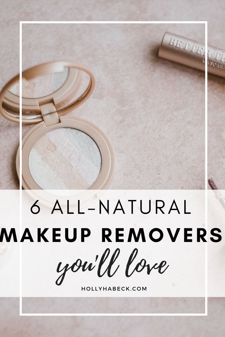 6 All-Natural Makeup Removers You'll Love