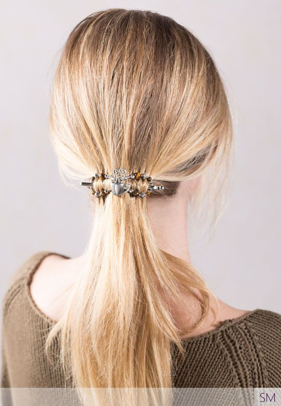 Ponytail Hairstyle | Hairstyles for medium length hair | short hair | fall hair | fall hairstyle | Lilla Rose | Flexi Clip | Hair updo | Hair Clip for thick hair | Hair clip for thin hair