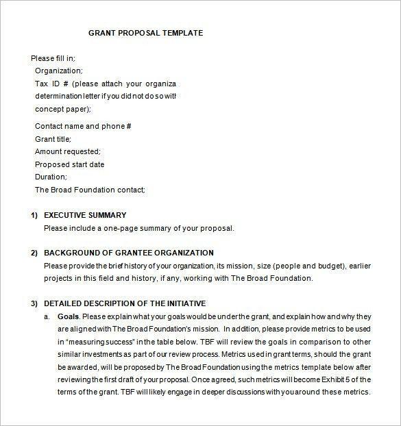 Executive Summary Proposal Template 20 Executive Summary - one page executive summary template