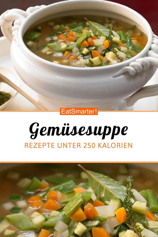 Französische Gemüsesuppe - mit Tomaten-Basilikum-Paste - smarter - Kalorien: 160 kcal - Zeit: 50 Min. | eatsmarter.de #lowcarb #eintopf #gemüsesuppe