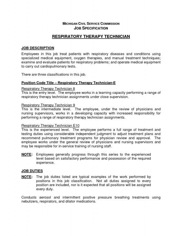 Respiratory Therapy Resume Examples Respiratory Therapist Resume    Radiation Therapy Resume Templates  Respiratory Therapist Resume