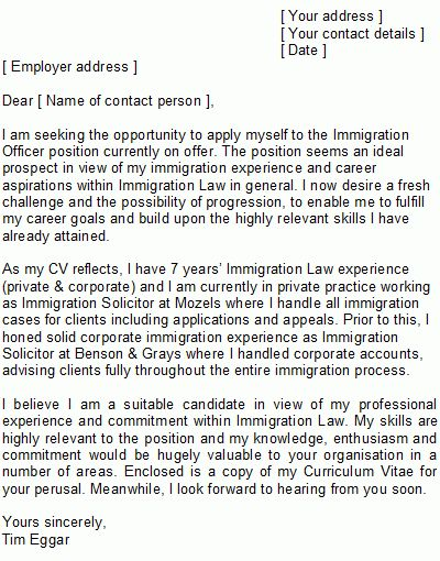 Solicitor Cover Letter Sample