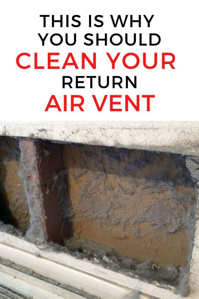 How to Clean Your Air Vent in Wall