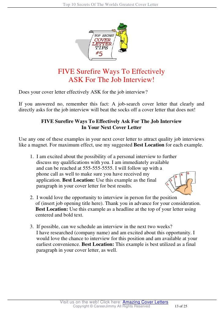 Top 10 Cover Letters Coming Up With A Good Resume Listverse Info - great cover letter secrets