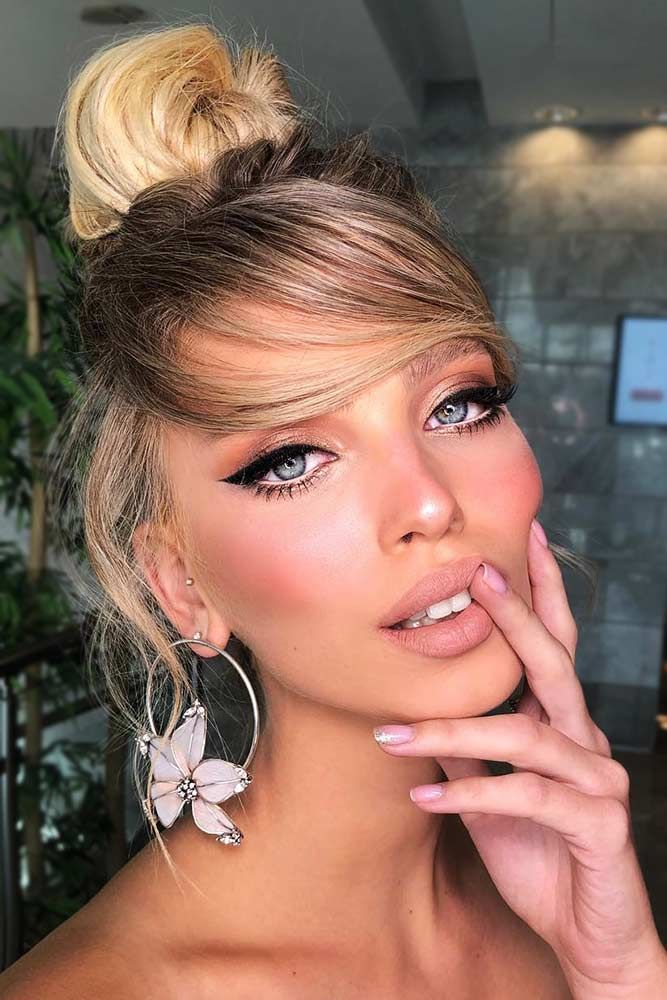 """Trendy Hairstyles With Bangs For Perfect Look <a class=""""pintag"""" href=""""/explore/updo/"""" title=""""#updo explore Pinterest"""">#updo</a> <a class=""""pintag"""" href=""""/explore/bun/"""" title=""""#bun explore Pinterest"""">#bun</a> <a class=""""pintag"""" href=""""/explore/bangs/"""" title=""""#bangs explore Pinterest"""">#bangs</a> ★ Spring break is approaching, and easy hairstyles that look pretty will come in handy whether you have an active or a passive vacation. See our collection. ★ <a class=""""pintag"""" href=""""/explore/glaminati/"""" title=""""#glaminati explore Pinterest"""">#glaminati</a> <a class=""""pintag"""" href=""""/explore/lifestyle/"""" title=""""#lifestyle explore Pinterest"""">#lifestyle</a><p><a href=""""http://www.homeinteriordesign.org/2018/02/short-guide-to-interior-decoration.html"""">Short guide to interior decoration</a></p>"""