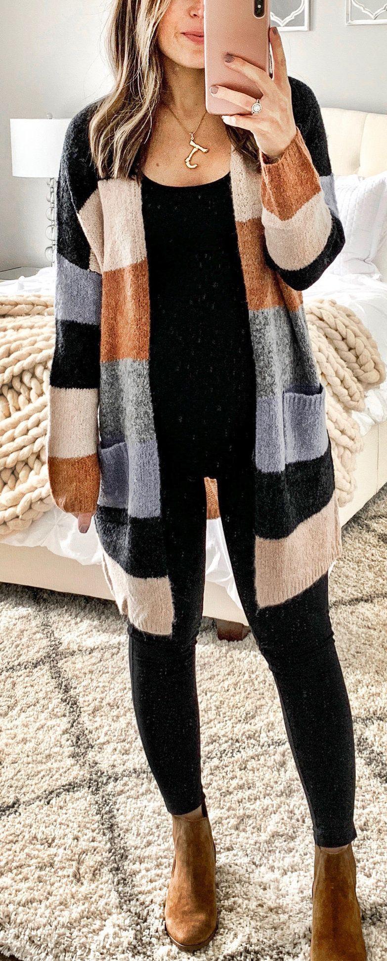 brown and black coat