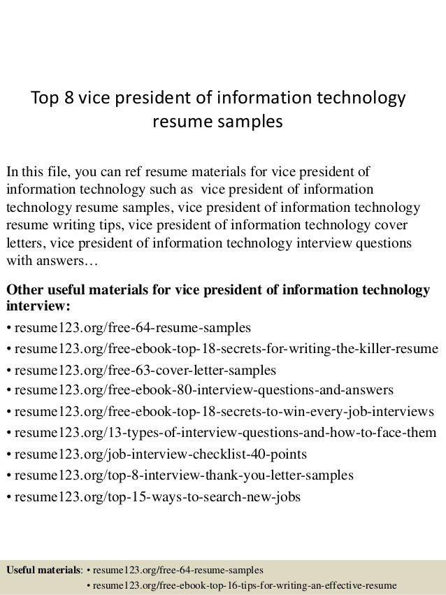 ... Sample Technology Resume Information Technology Management Resume   Sample  Resume Information Technology ...  Information Technology Resume Samples