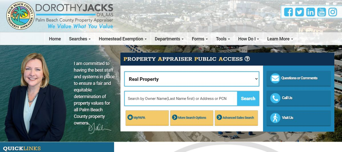 palm beach county property appraiser