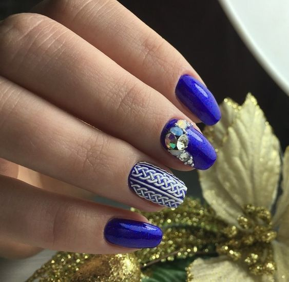 70 Winter Nail Designs – Reny styles